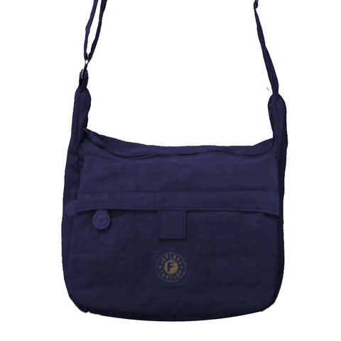 Navy Blue Small Deena Cross Body Bag
