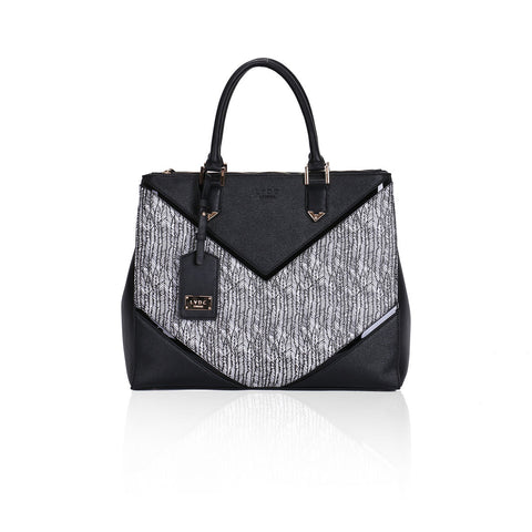 LYDC Tribeca Grande Black Tote bag