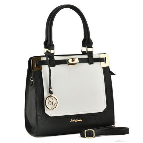 Sally Young Black and White Two Toned bag