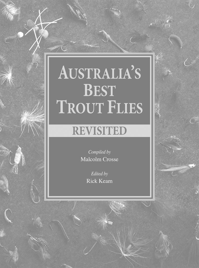 A. Numbered box set of Australia's Best Trout Flies and Australia's Best Trout Flies Revisited