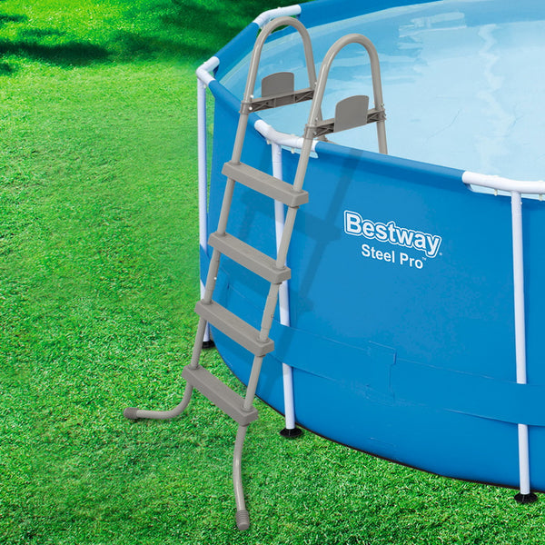 Bestway Above Ground Pool Ladder with Removable Steps 122CM