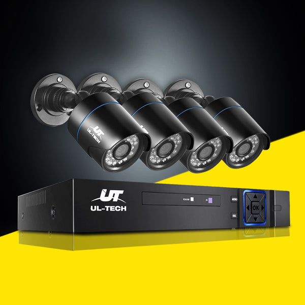 UL Tech 1080P 8 Channel HDMI CCTV Security Camera