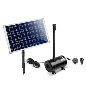 Gardeon 1400L/H Submersible Fountain Pump with Solar Panel- (ST609)
