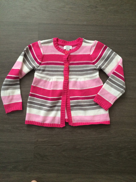 Button-Up Sweater (Girls Size 4T)