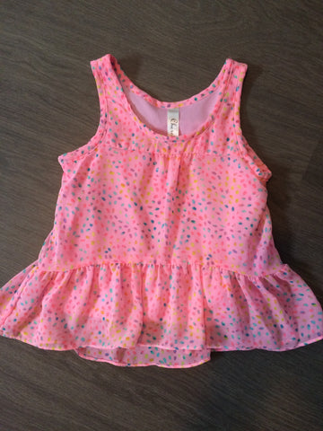 Adorable flowing tank top (Girls Size 4-5T)