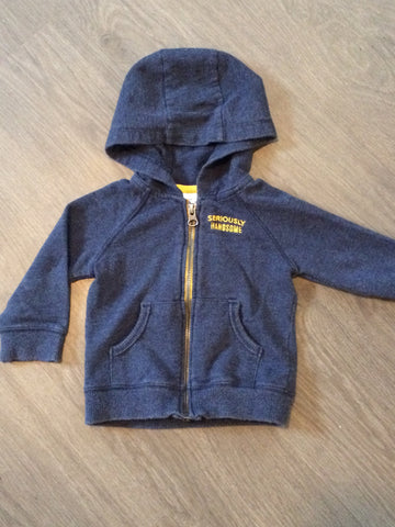 """Seriously Handsome"" Hooded Sweater (Boys Size 2T)"