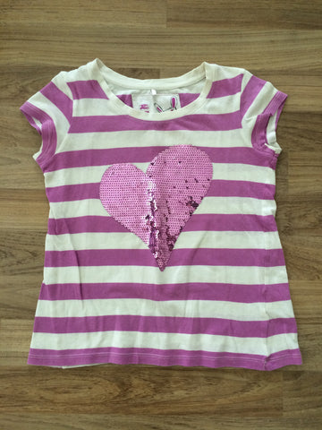 "Cute ""Heart"" Top (Girls Size 8T)"