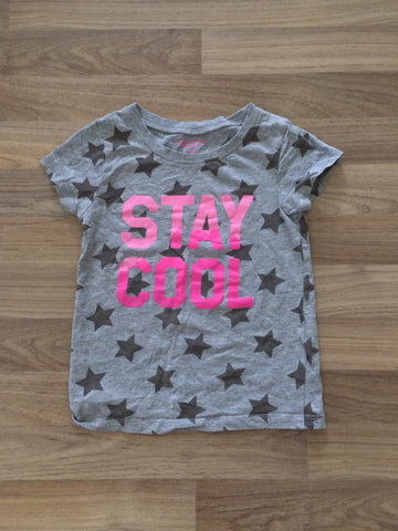 """Stay Cool"" Graphic Shirt (Girls Size 5T)"