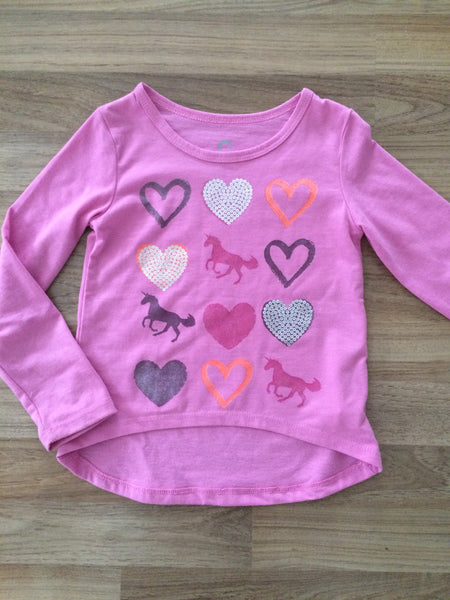 Long Sleeve Top (Girls Size 4T)