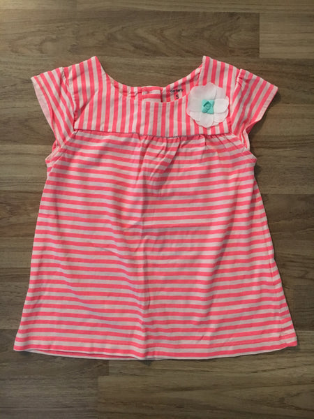 Stripe Top (Girls Size 5T)
