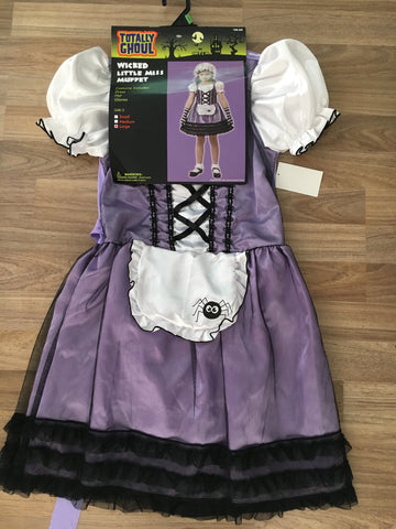 Wicked Little Miss Muffet (Girls Size 10-12)