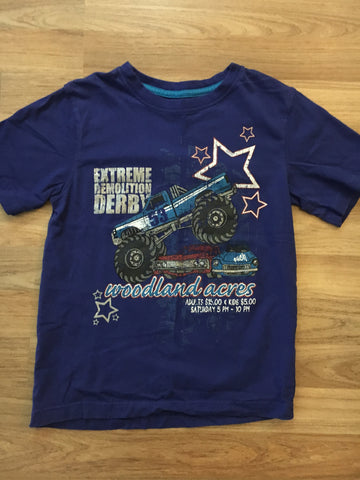 """Extreme Demo Derby"" Graphic Top (Boys Size 7)"