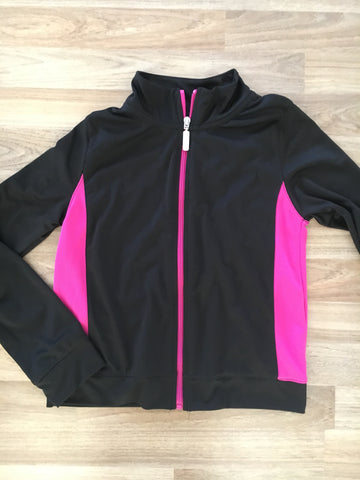 Full-Zip Sweater (Girls Size 10-12)