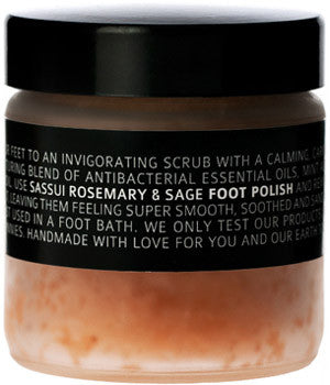 Himalayan Salt Foot Polish ▪ Rosemary & Sage ▪ 150g