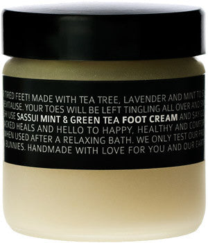Foot Cream ▪ Green Tea & Mint ▪ 100ml