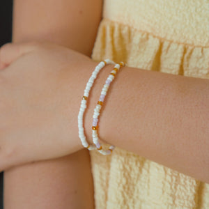 Lilac Stackable Bracelets