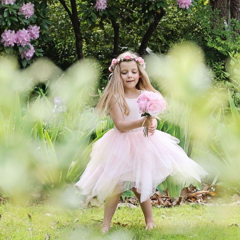 Flower Girl Ready - Pinterest Inspired Looks