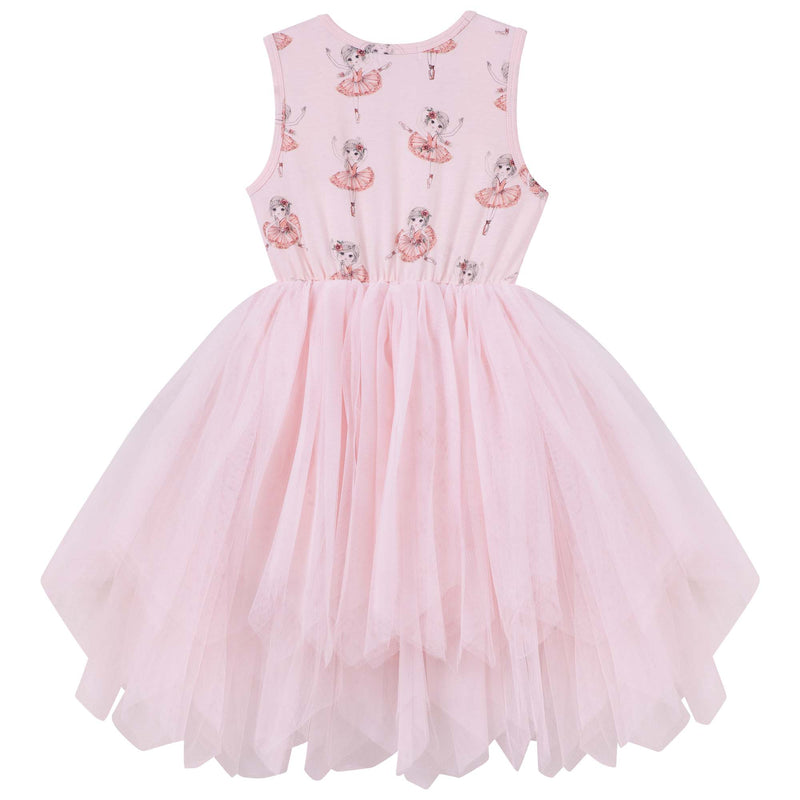 Melody Tulle Dress - Petal - Designer Kidz | Girls, Boys & Babies Online Boutique | Sizes 0000-14 | Secure Payment & Quick Dispatch | Pay with Afterpay | We Ship Worldwide | Free Aus Delivery Over $80