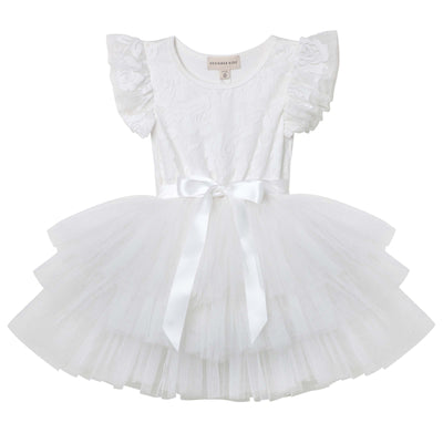My First Lace Tutu S/S - Ivory