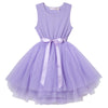 Ice Princess S/S Tutu Dress - Lilac - Designer Kidz