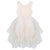 Sophie S/S Lace Bodice Tutu Dress - Beige
