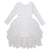 Sophie L/S Lace Bodice Tutu Dress - Ivory