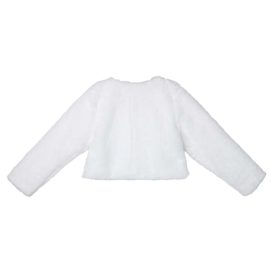 Sarah Faux Fur Jacket - Ivory