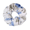 Audrey Floral Scrunchie - Dusty Blue