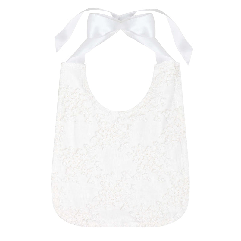 Buy Sophia Christening Bib - Ivory - Designer Kidz | Special Occasions, Party Wear & Weddings  | Sizes 000-16 | Little Girls Party Dresses, Tutu Dresses, Flower Girl Dresses | Pay with Afterpay | Free AU Delivery Over $80