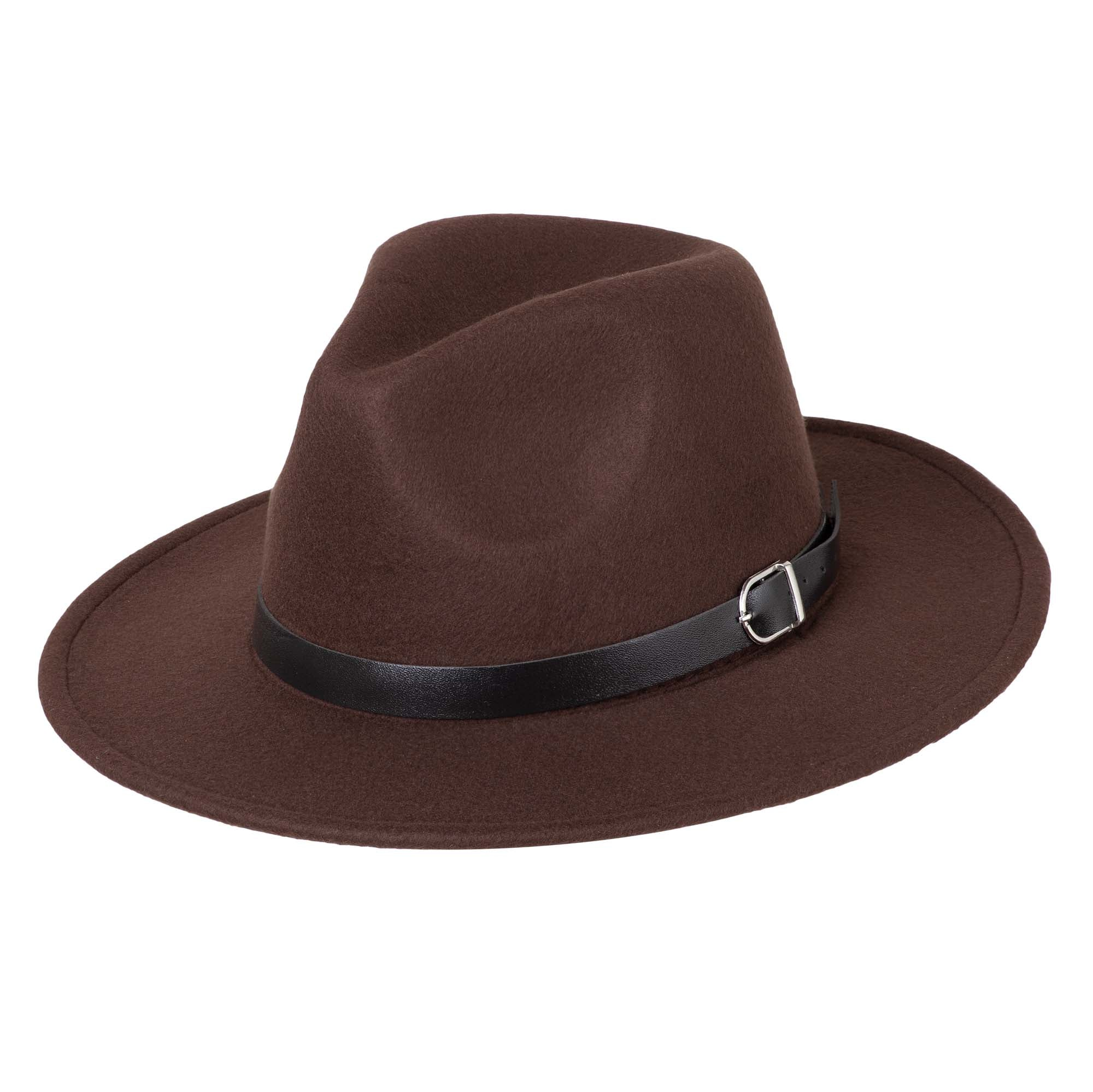 Felt Fedora - Chocolate