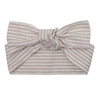 Buy Linen Headband - Oatmeal Stripe - Designer Kidz | Special Occasions, Party Wear & Weddings  | Sizes 000-16 | Little Girls Party Dresses, Tutu Dresses, Flower Girl Dresses | Pay with Afterpay | Free AU Delivery Over $80