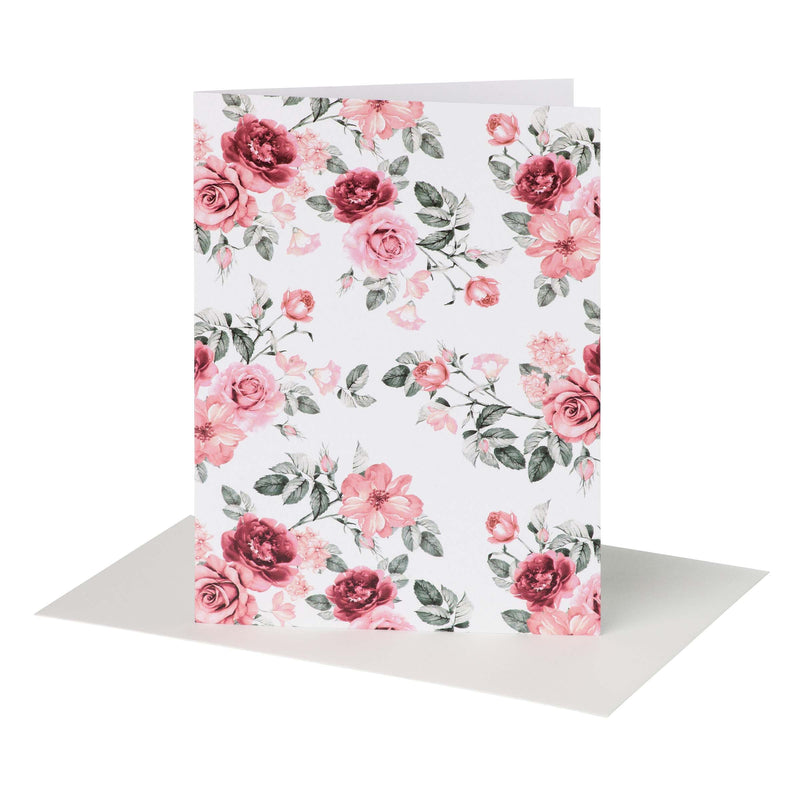 Buy Audrey Tea Rose Floral Greeting Card - Designer Kidz | Special Occasions, Party Wear & Weddings  | Sizes 000-16 | Little Girls Party Dresses, Tutu Dresses, Flower Girl Dresses | Pay with Afterpay | Free AU Delivery Over $80