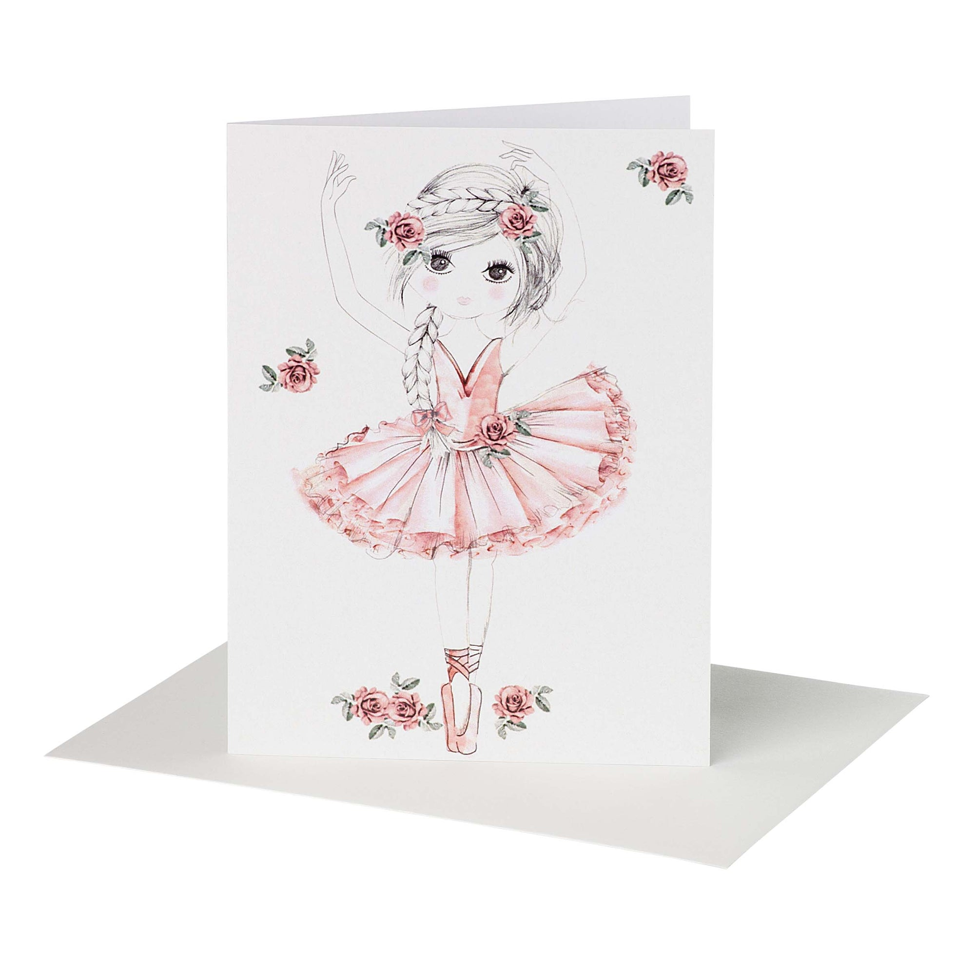 Buy Ballerina Tutu Greeting Card - Designer Kidz | Special Occasions, Party Wear & Weddings  | Sizes 000-16 | Little Girls Party Dresses, Tutu Dresses, Flower Girl Dresses | Pay with Afterpay | Free AU Delivery Over $80