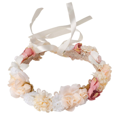 Buy Juliette Flower Crown - Pink - Designer Kidz | Special Occasions, Party Wear & Weddings  | Sizes 000-16 | Little Girls Party Dresses, Tutu Dresses, Flower Girl Dresses | Pay with Afterpay | Free AU Delivery Over $80