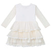 Poppy L/S Tiered Tulle Dress