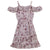 Taylor Frill Dress - Dusty Pink
