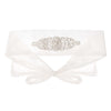 Sophie Diamond Belt - Ivory