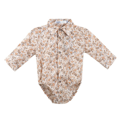 Buy Byron Romper L/S - Mustard - Designer Kidz | Special Occasions, Party Wear & Weddings  | Sizes 000-16 | Little Girls Party Dresses, Tutu Dresses, Flower Girl Dresses | Pay with Afterpay | Free AU Delivery Over $80