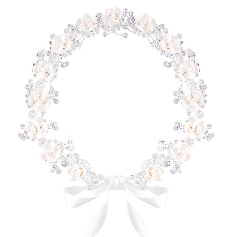 Buy Crystal Flower Crown - Designer Kidz | Special Occasions, Party Wear & Weddings  | Sizes 000-16 | Little Girls Party Dresses, Tutu Dresses, Flower Girl Dresses | Pay with Afterpay | Free AU Delivery Over $80