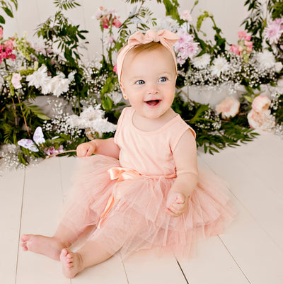 Buy My First Tutu S/S - Tea Rose - Designer Kidz | Special Occasions, Party Wear & Weddings  | Sizes 000-16 | Little Girls Party Dresses, Tutu Dresses, Flower Girl Dresses | Pay with Afterpay | Free AU Delivery Over $80
