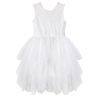 Buy Ella Lace Tutu Dress/S - Ivory - Designer Kidz | Special Occasions, Party Wear & Weddings  | Sizes 000-16 | Little Girls Party Dresses, Tutu Dresses, Flower Girl Dresses | Pay with Afterpay | Free AU Delivery Over $80