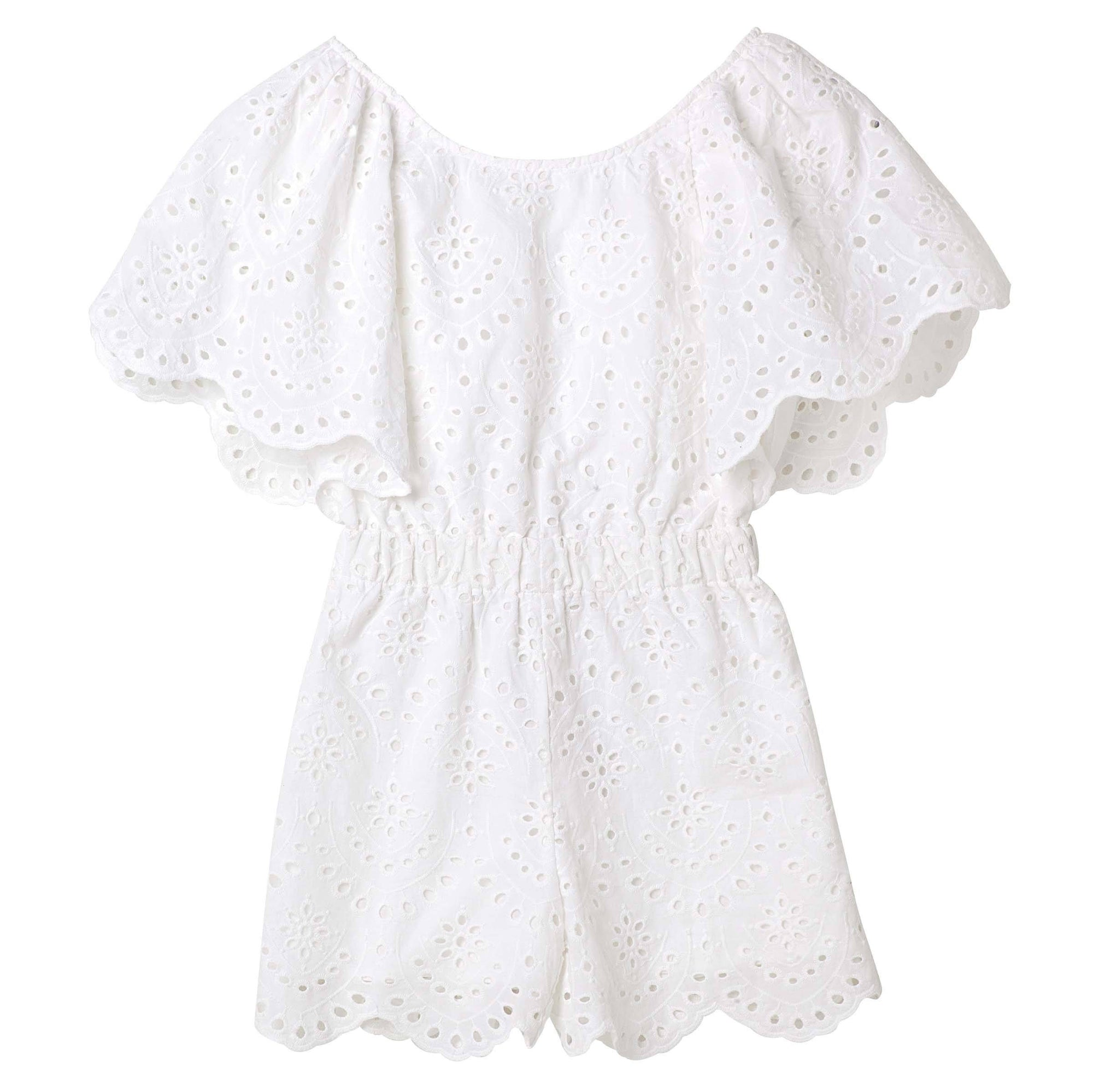 Buy Eva Lace Jumpsuit - Designer Kidz | Special Occasions, Party Wear & Weddings  | Sizes 000-16 | Little Girls Party Dresses, Tutu Dresses, Flower Girl Dresses | Pay with Afterpay | Free AU Delivery Over $80