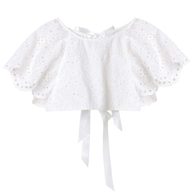 Buy Eva Lace Top - Designer Kidz | Special Occasions, Party Wear & Weddings  | Sizes 000-16 | Little Girls Party Dresses, Tutu Dresses, Flower Girl Dresses | Pay with Afterpay | Free AU Delivery Over $80