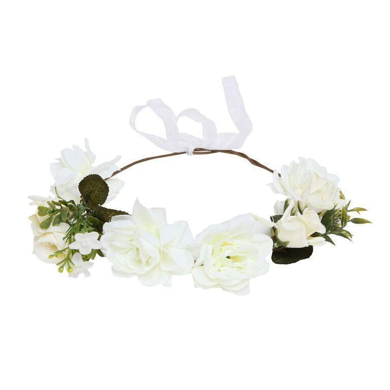 Fairy Flower Crown- Ivory