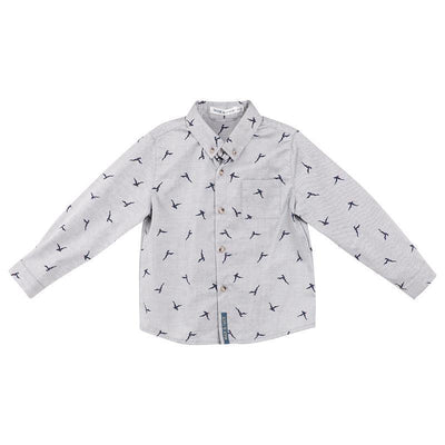 Buy Seagulls L/S Shirt - Designer Kidz | Special Occasions, Party Wear & Weddings  | Sizes 000-16 | Little Girls Party Dresses, Tutu Dresses, Flower Girl Dresses | Pay with Afterpay | Free AU Delivery Over $80