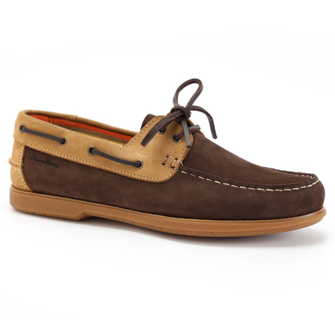 Chocolate Brown Nubuck/Tan Nubuck