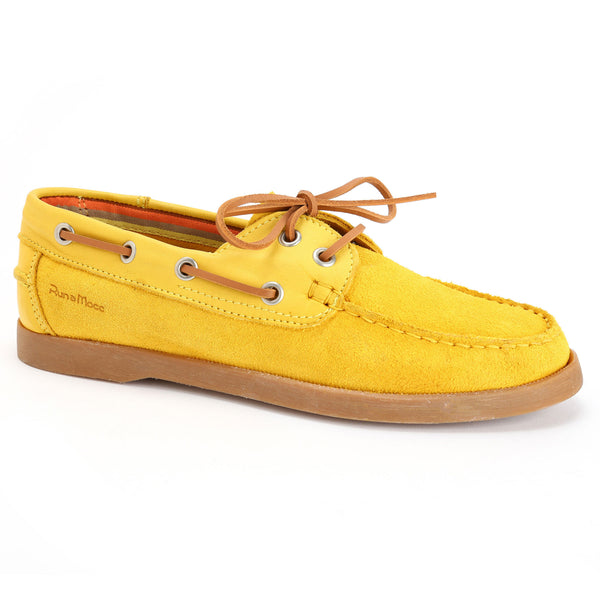 Yellow Suede/Yellow Leather
