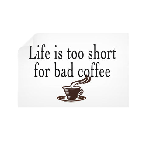 Coffee Horizontal Wall Decals  Robert Klein