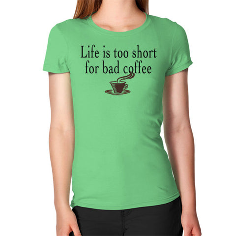 Coffee Women's T-Shirt Grass Robert Klein