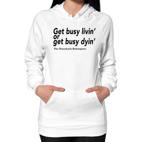 Hoodie (on woman) White Robert Klein